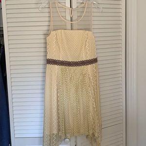 Altard State Cream Colored dress